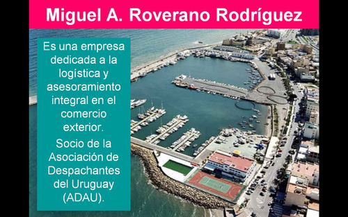 despachante de aduana miguel roverano
