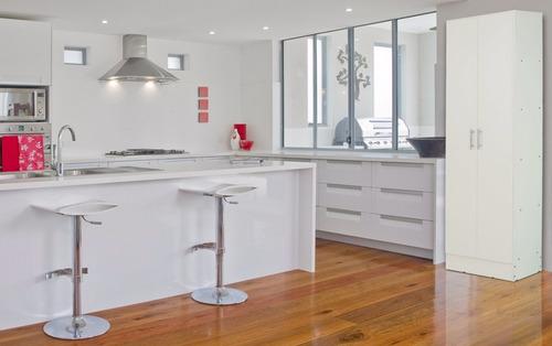 despensero de cocina 2 puertas 5 estantes mosconi 60x32x182