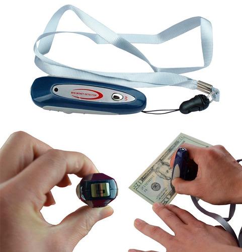 detector de billetes portátil a pilas
