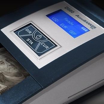 detector de dinero portatil uv,ir,magnético,marcadeagua d580