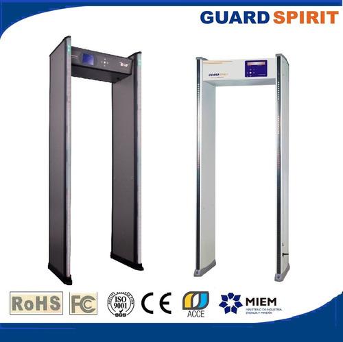 detector de metales manual con cargador y bateria recargable