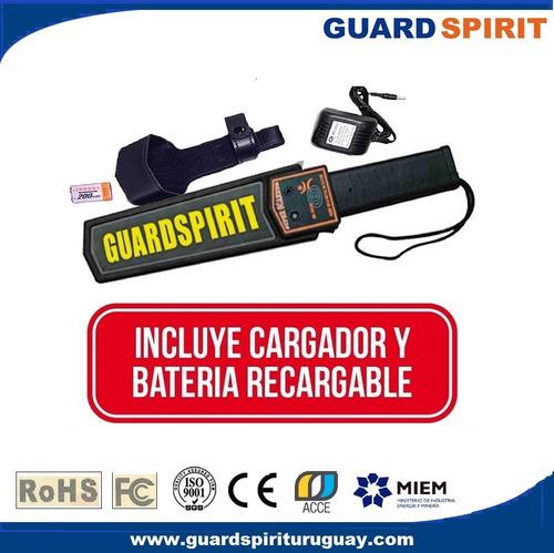 detector de metales pack 3 unid. bateria y cargador incluido