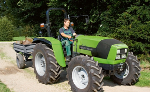 deutz fahr tractores