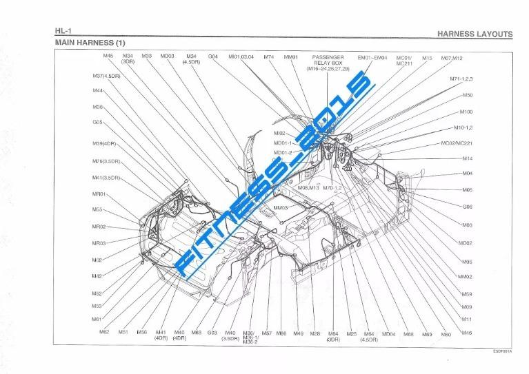 diagramas el u00e9ctricos hyundai excel full