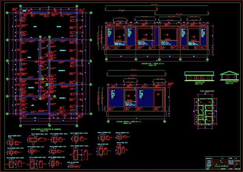 dibujante técnico cad - técnico en instalaciones sanitarias