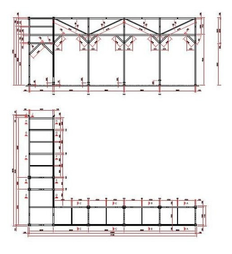 dibujo y calculo de estructuras en acero,