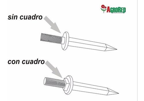 dientes de rastra maquinaria agricola - agrorep