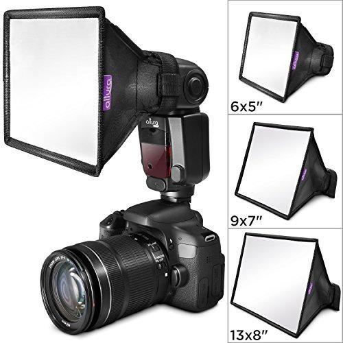 difusor d/flash altura photo univ. plegable p/canon nikon 3u