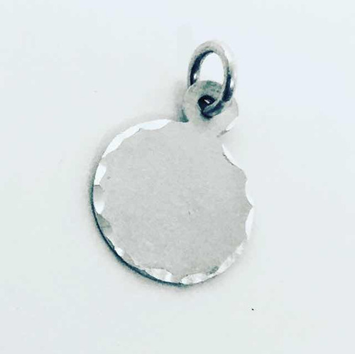 50dfa948586d Dije Medalla Para Grabar De Plata 925 De 1