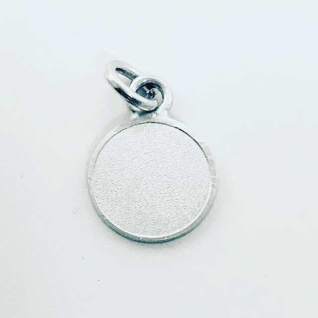 24344e282461 Dije Medalla Para Grabar En Plata 925 De 1