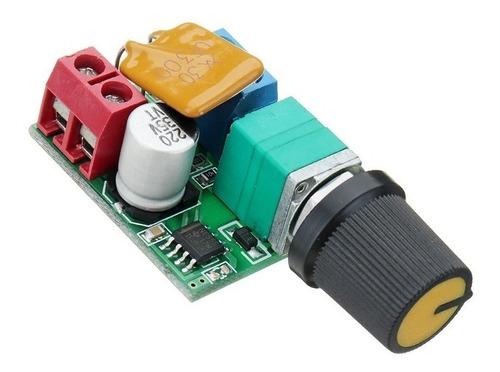 dimmer 3 a 35v 5a - ideal motores - de pc - luces led - etc