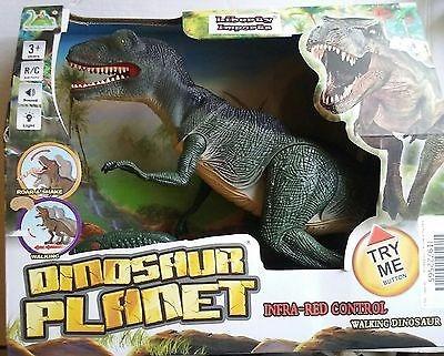 dinosaurio movimiento y sonido 45cm largo 25cm de alto