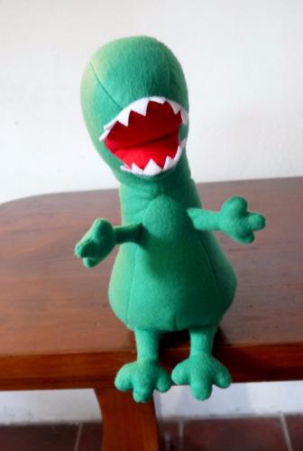 dinosaurio peluche de george (peppa pig) grande! 40 cm