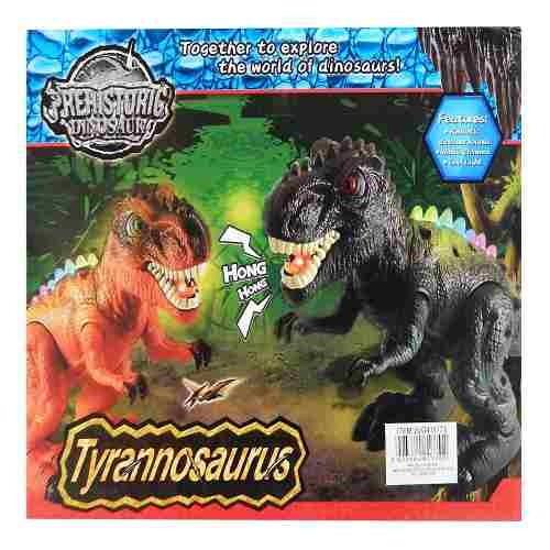 dinosaurio tiranosaurio rex luces y sonido - hay de todo!