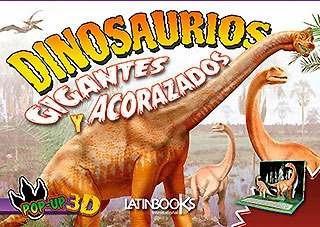 dinosaurios pop up 3d: gigantes y acorazados nice