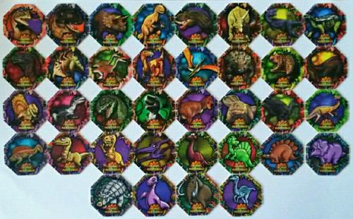 dinotazos 1995 pepsico snacks