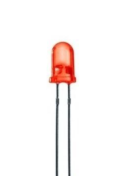 diodo led rojo 3mm arduino pcb protoboard arduinowifi