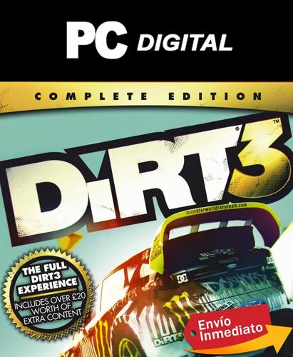 dirt 3 pc español / edición completa / digital