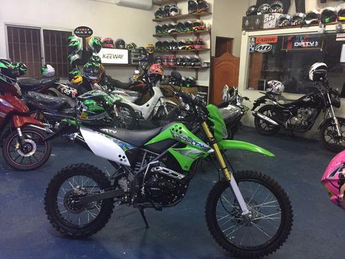 dirty enduro todoterreno cross  modelos 2018 125 - 250
