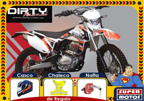 dirty tz 125 modelo 2020