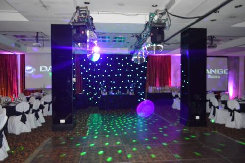 disc jockey dj iluminacion,pantalla,shows, karaoke