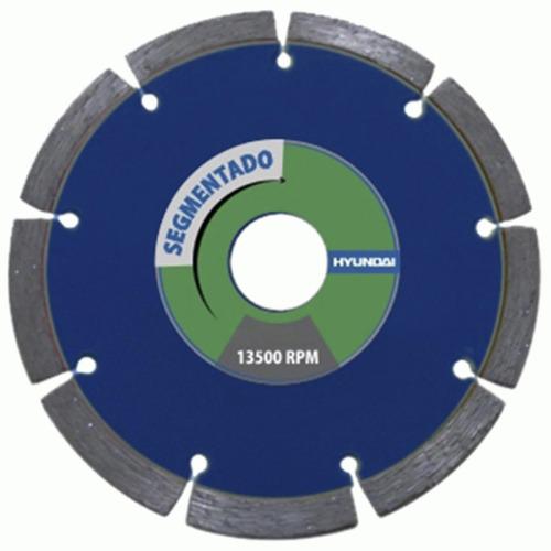 disco corte diamantado segmentado hyundai 230 mm x 22.2 mm