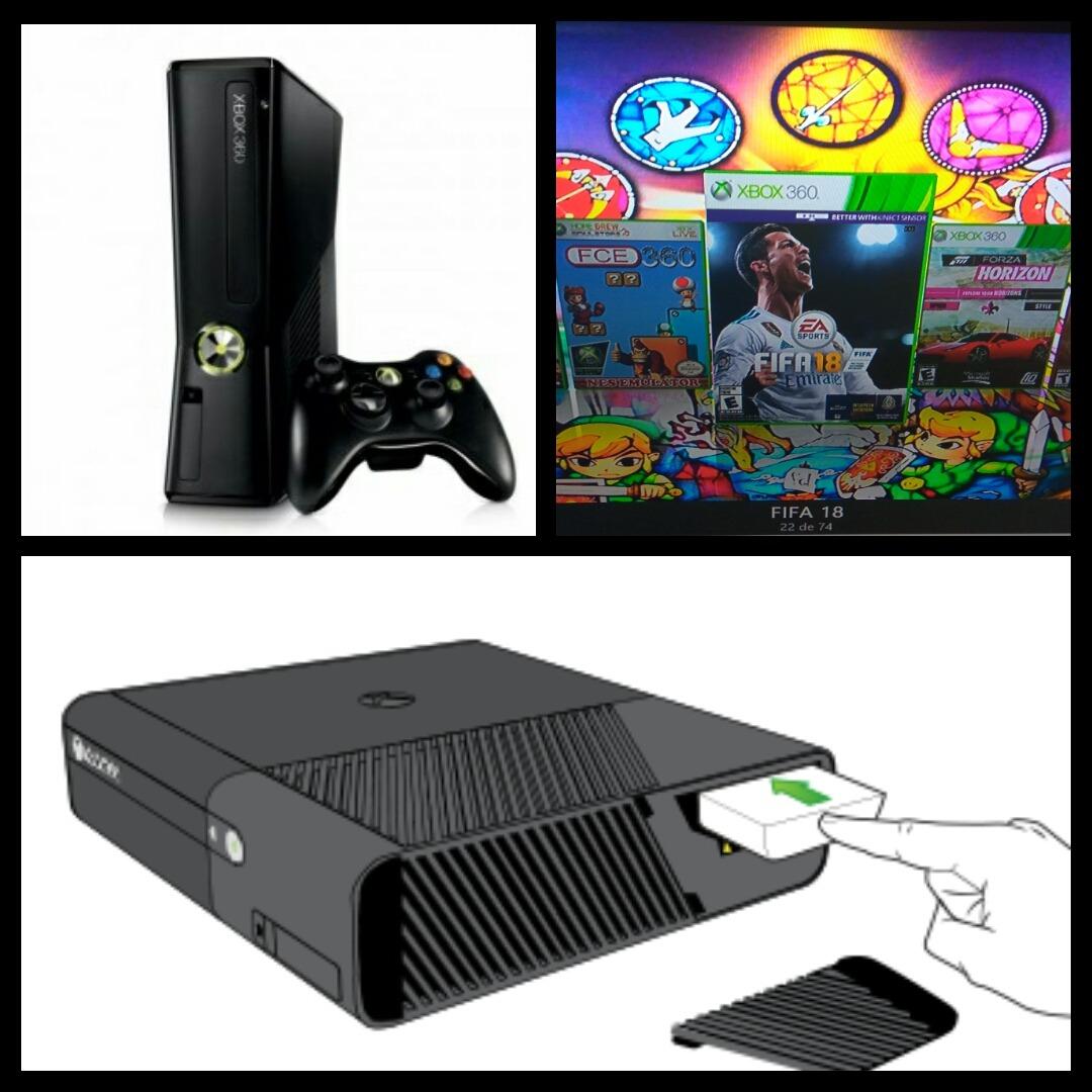 Disco De 750 Gb Para Xbox 360 Rgh 1000 Juegos 3 200 00 En
