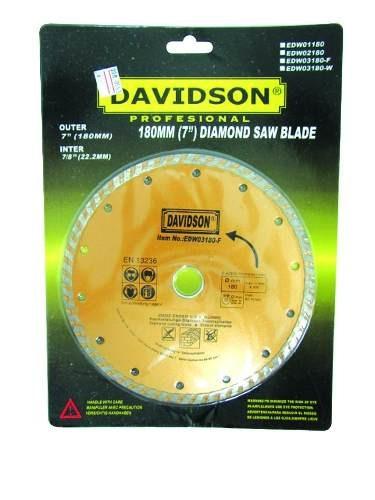 disco diamantado 7´ turbo davidson