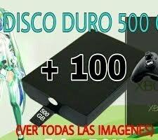 Disco Duro Para Xbox 360 Rgh 1000 Juegos - $ 2 400,00