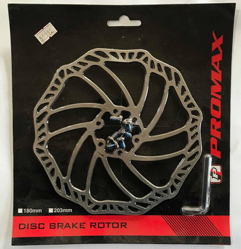 disco freno bici 180 mm promax