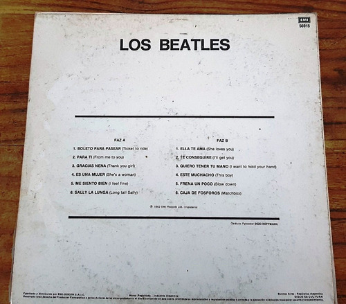disco los beatles