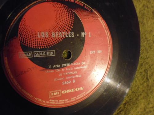 disco simple de vinilo los beatles