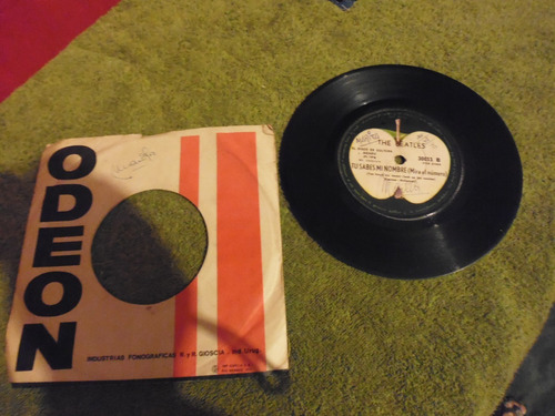 disco simple vinilo the beatles