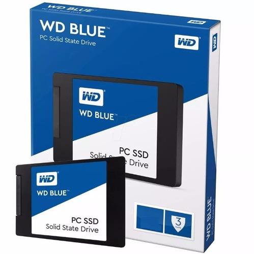 disco solido 500gb wd blue ssd 2.5 sata3 6gb/s - smal lan