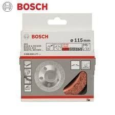 disco top metal y otros materiales. grano fino bosch 4.5pulg