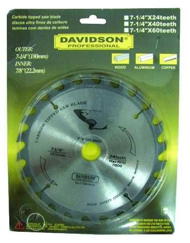 disco widia 7.1/4 24d.davidson