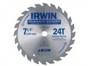 disco widia p/madera 7.1/4  - 184mm. irwin 24 dientes