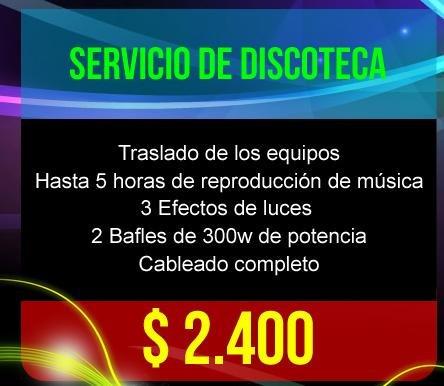 discoteca, karaoke, pantalla gigante , precios lanzamiento!