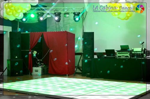 discoteca - pista led - cabina fotos - precios  descripción