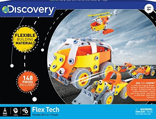 Discovery Kids Build And Play Juego De Puzzle Educativo Flex
