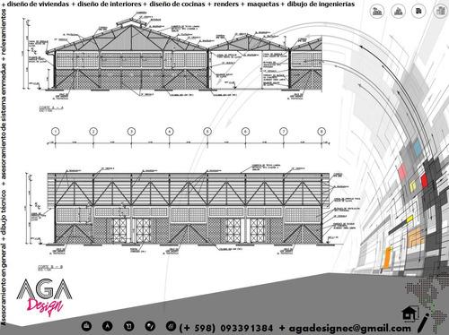 diseño-proyectos-renders-maquetas-digitalización de planos