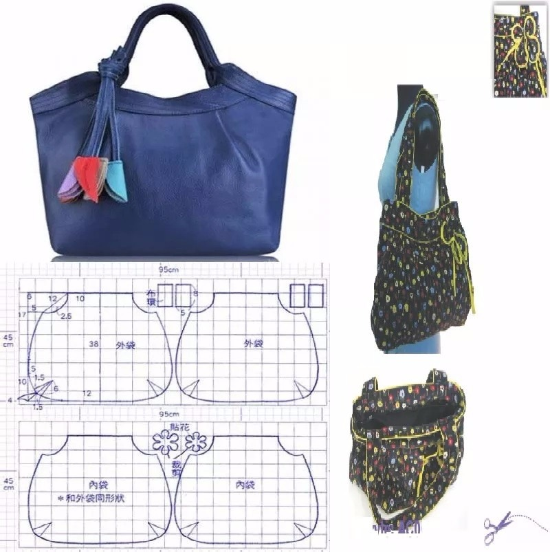 Confecciones Patrones CarterasIdeas Diseños Bolsos Moldes k8wOZ0NnPX