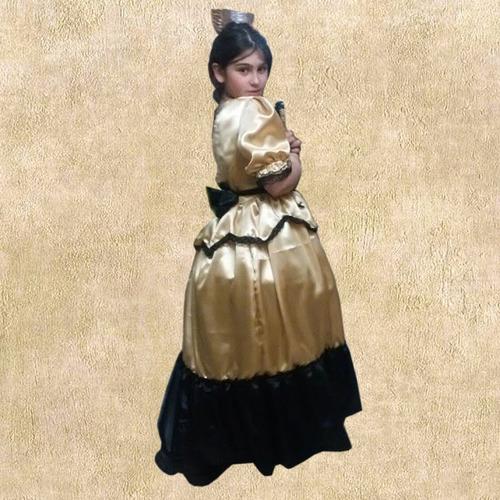 disfraz dama antigua