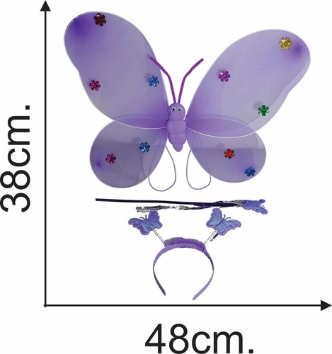 disfraz de mariposa hada