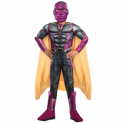 disfraz de niño - avengers - vision - era de ultron - marvel