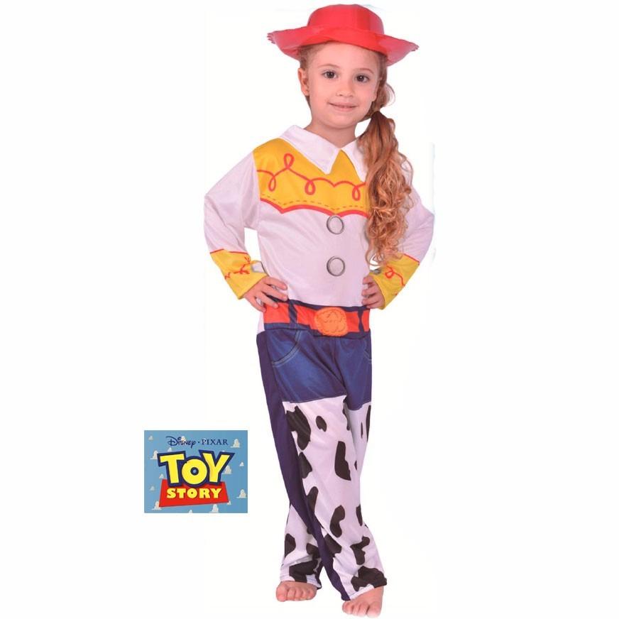Disfraz Nina Jessie Toy Story Original Disney