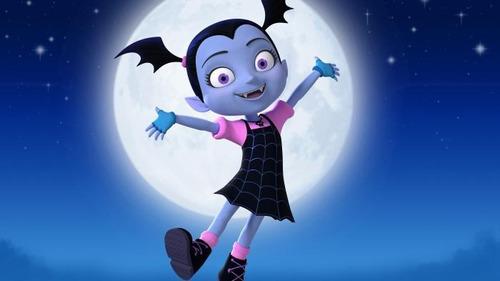 disfraz vampirina infantil disney con luz y dientes