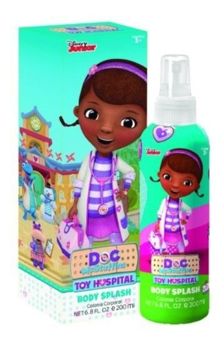 disney body splash dra. juguetes 200ml