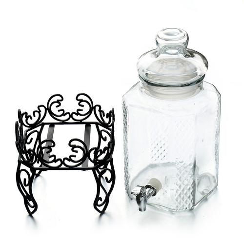 dispensador de vidrio 5 litros-tutti