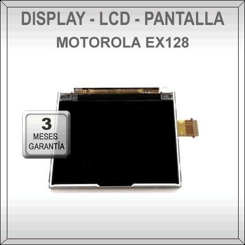 display motorola ex115 - pantalla lcd ex115 original